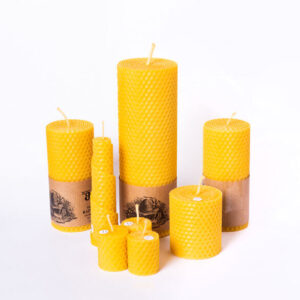100% Beeswax candles Gift Set - Handcrafted in Ireland
